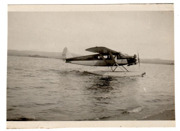 Sea planes are still a rare site on the lakes!