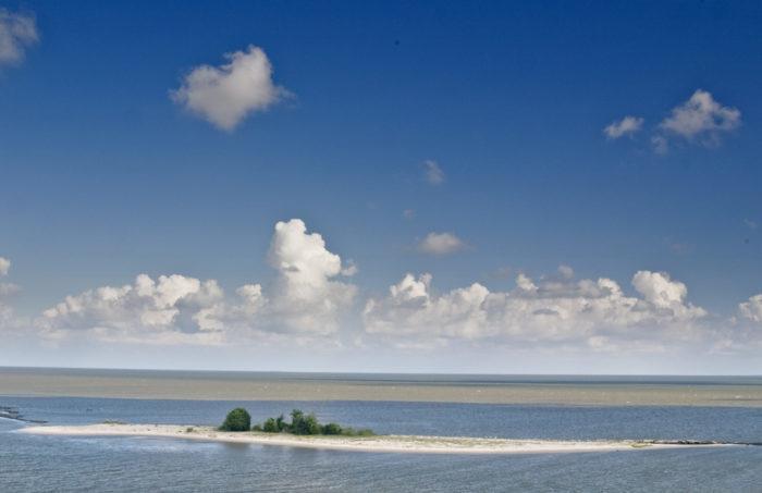 10. Deer Island, near Biloxi
