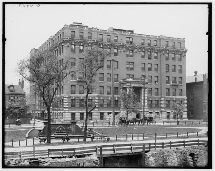 General Hospital Pittsburgh, circa 1908.