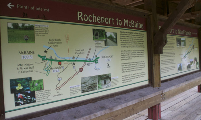 10. Katy Trail Map
