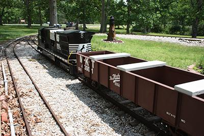 9.Magic City Line Mini-Train, Moberly