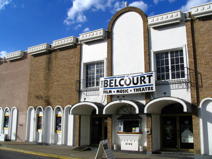10. Take in a show at The Belcourt.