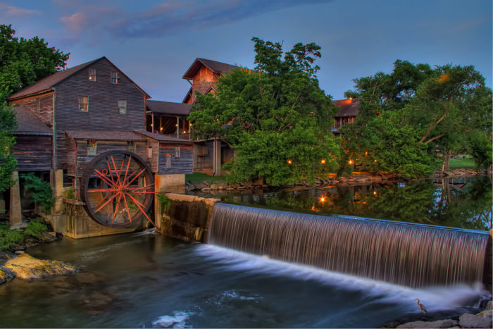 10. Visit the Old Mill in Pigeon Forge - there's free fudge samples!