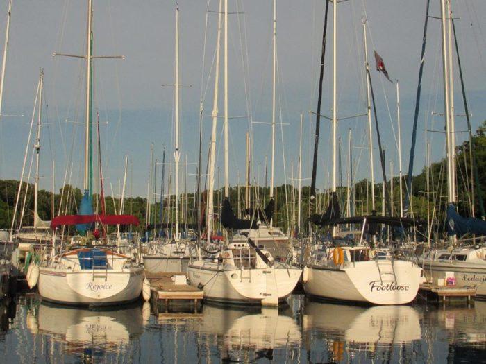 10. Sailing, Grand Lake Sail Club, Grove.