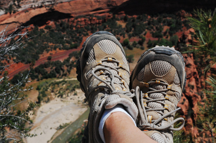 8. You can hike along more than 100 miles of trails in Zion National Park.