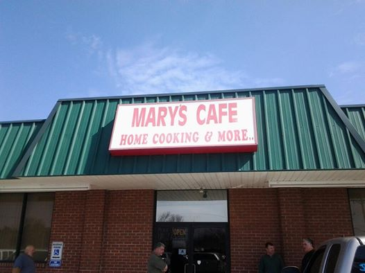 9. Mary's Cafe, Rock Hill