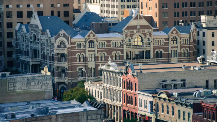 5. The Driskill hotel looks quite charming from up here, doesn't it? And so does the rest of 6th Street.
