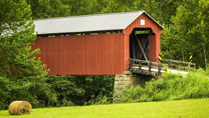 7. Drive through as many covered bridges as possible.