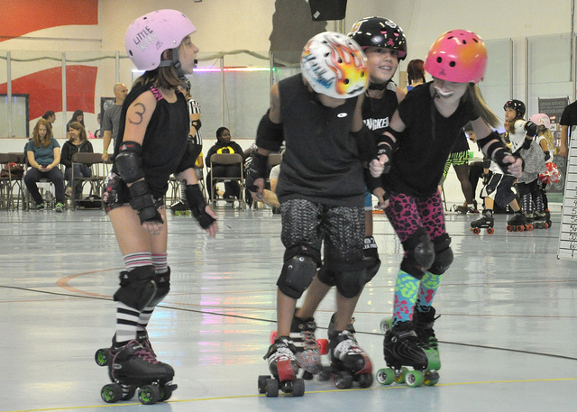 3. Going To The Roller Rink With Your Friends