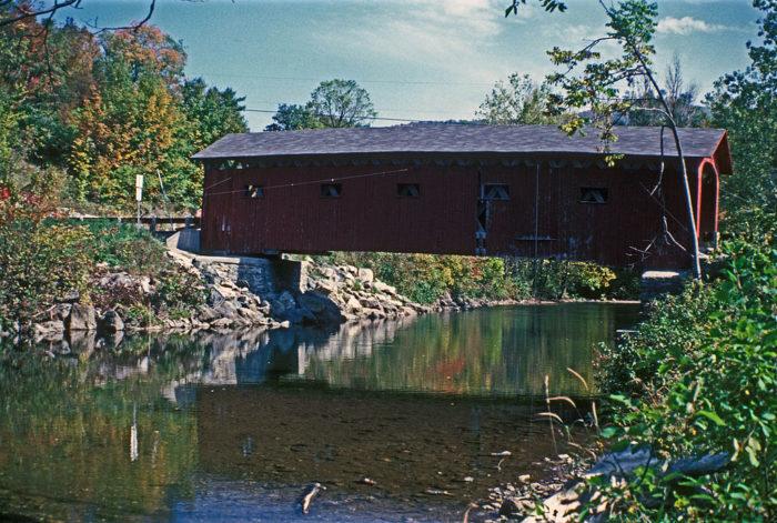 12.  Arlington Green Covered Bridge, Arlington
