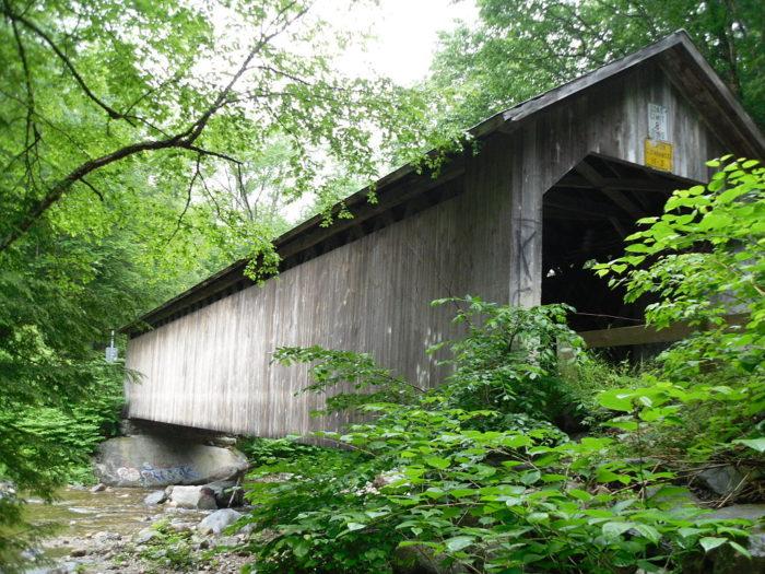 2.  Brown Covered Bridge, Clarendon