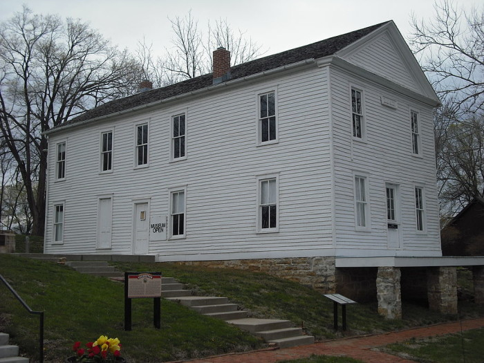 8. Constitution Hall (Lecompton)
