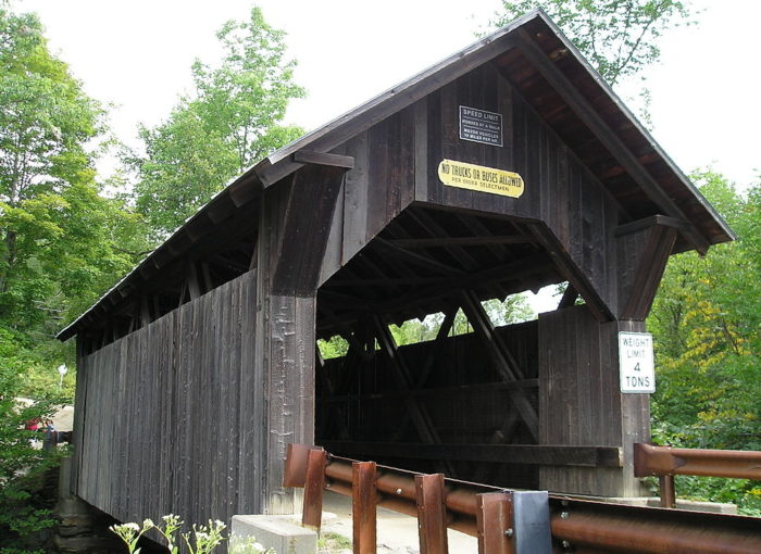 1.  Gold Brook Covered Bridge, Stowe