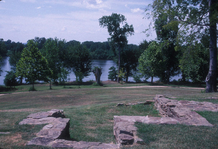 Bonus: You can also find the foundations of the original fort in Fort Smith, which date back to 1818.