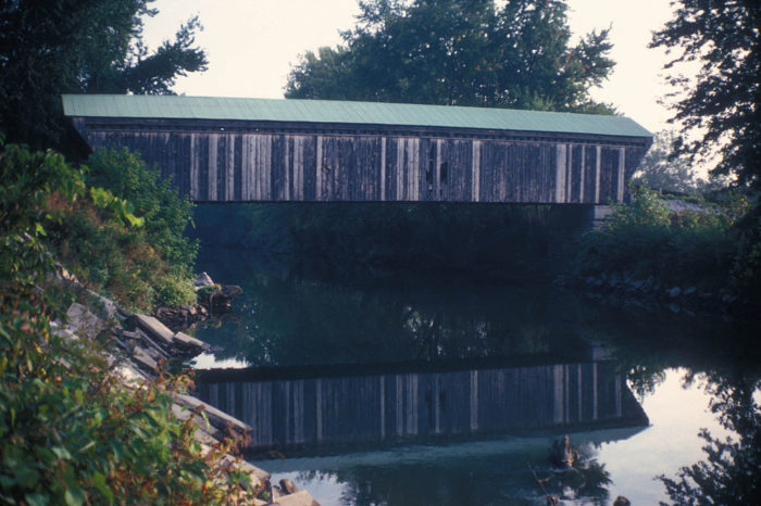 7.  Gorham Covered Bridge, Pittsford