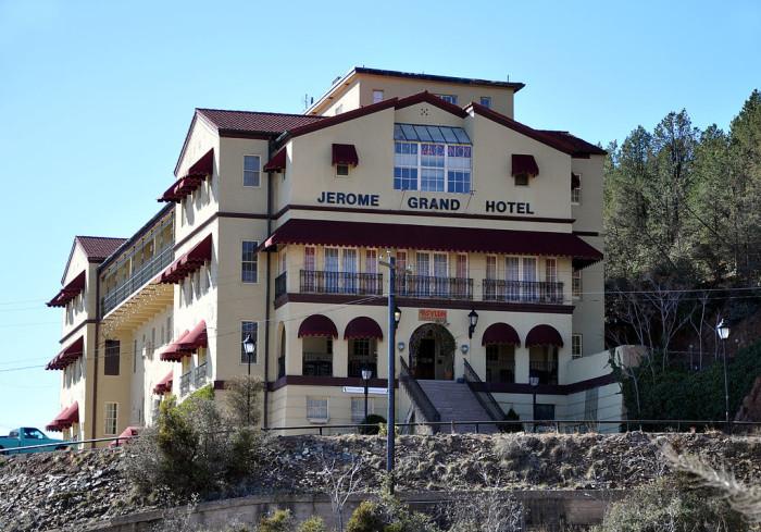 4.  Jerome Grand Hotel, Jerome, AZ