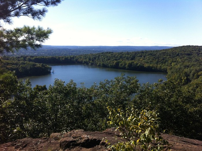 8. Crescent Lake in Southington is great for canoeing and low exertion walking trails.