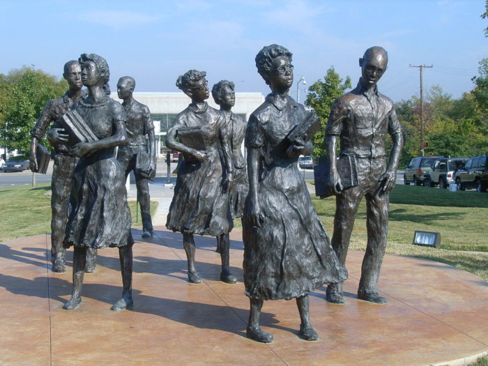 Bonus: While you're in town, check out the Little Rock Nine Monument.