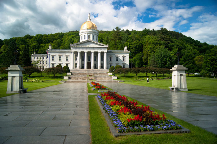 14.  Vermont State House, Montpelier