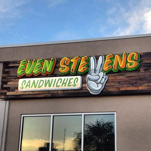 2. Even Stevens Sandwiches, Salt Lake City Location