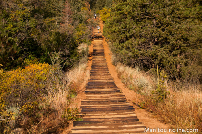 4. There is no need to visit the gym when there's the Manitou Incline...