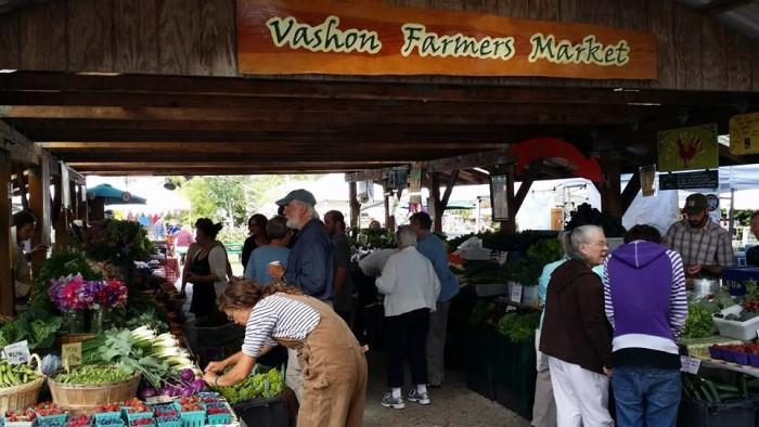 9. Vashon Farmers Market