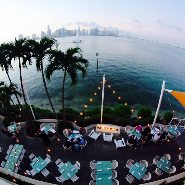 6. The Rusty Pelican Restaurant, Miami