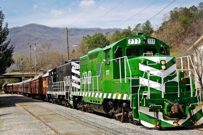 7. Smoky Mountain Trains Museum, Bryson City, N.C.