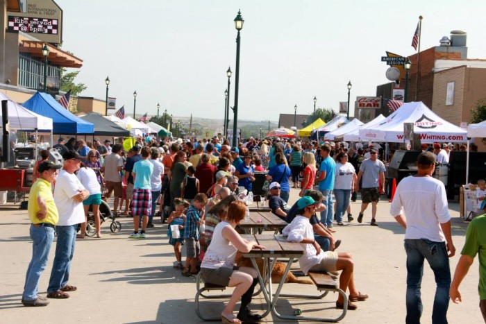 1. Best of the West Ribfest - Watford City