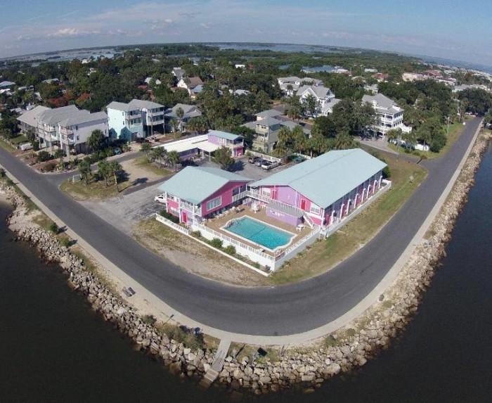4. Beach Front Motel, Cedar Key