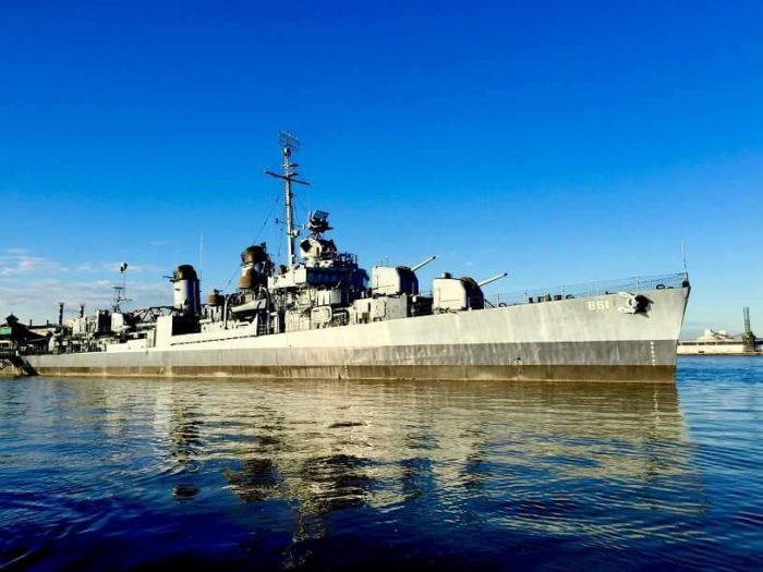 12. USS Kidd & Veterans Memorial, Baton Rouge Cost: $8