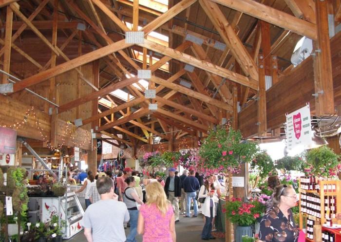 5. Olympia Farmer's Market