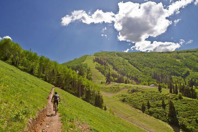 24. Mountain Biking
