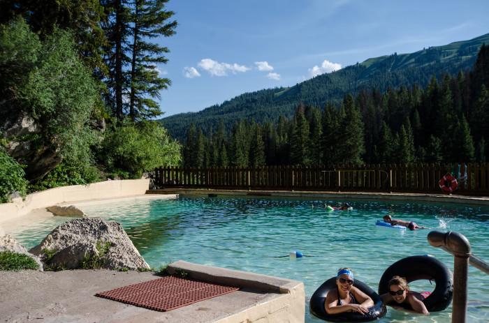 7. Granite Hot Springs