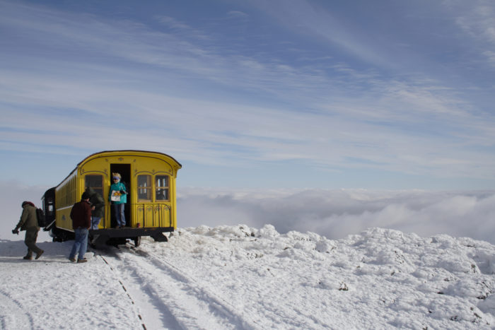 13. Mount Washington Cog Railway, New Hampshire