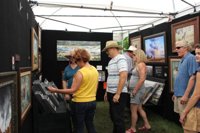 14. Have fun in the park at the Brookings Summer Arts Festival.