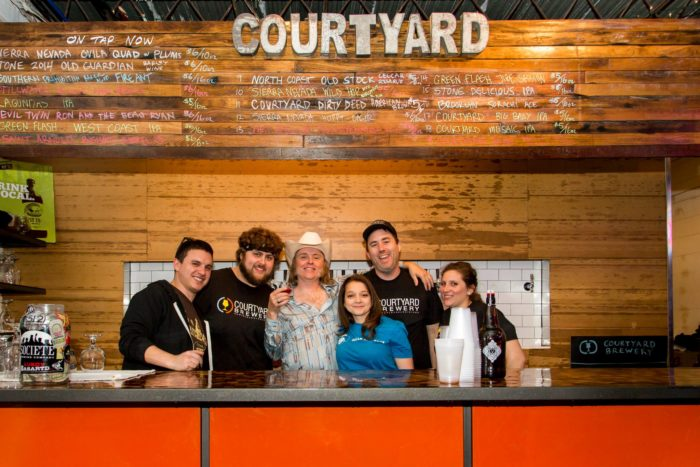 1) The Courtyard Brewery