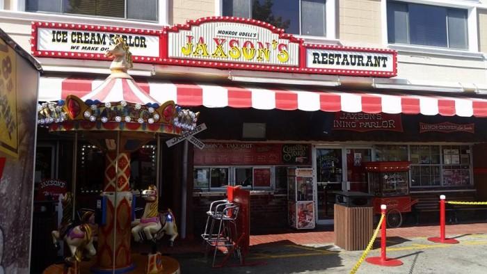 10. Ice Cream at Jaxson's