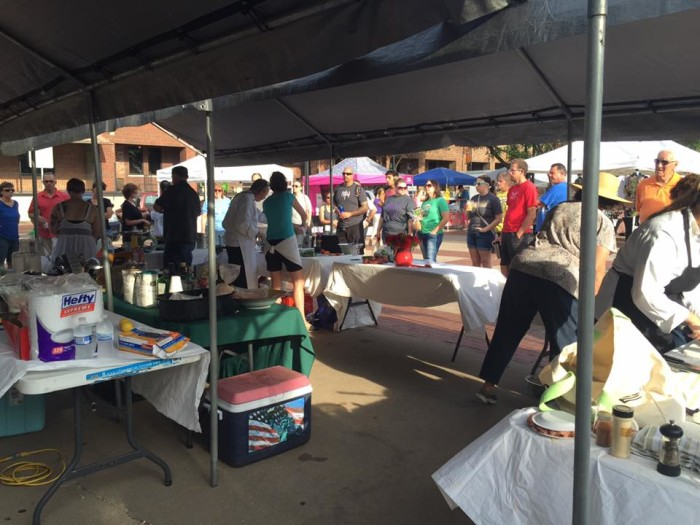 3. Old Town Farmers Market (1st & Mosely, Wichita)