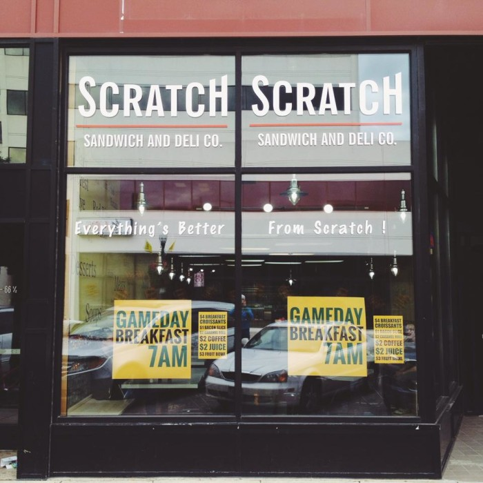 2. Scratch Sandwich and Deli Co. - Fargo
