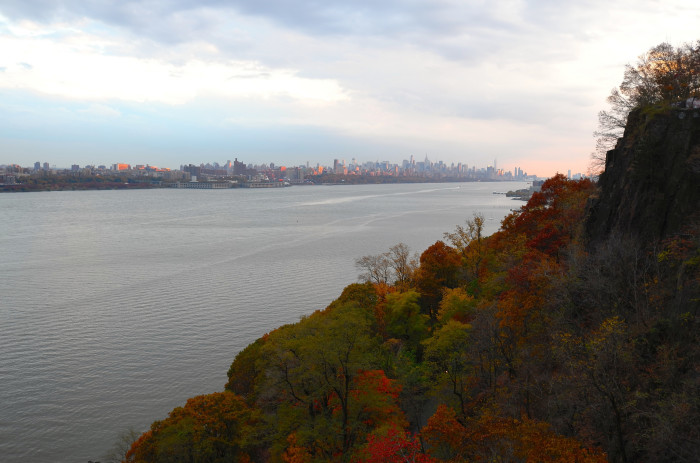 The Palisades in Fort Lee