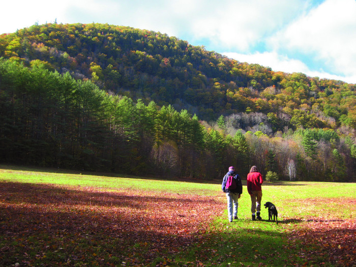 1. Hiking along the Mohawk Trail in western Mass. affords gorgeous views and glorious fresh air in all seasons.