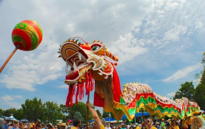 5. Colorado Dragon Boat Festival, July 30-31, 2016