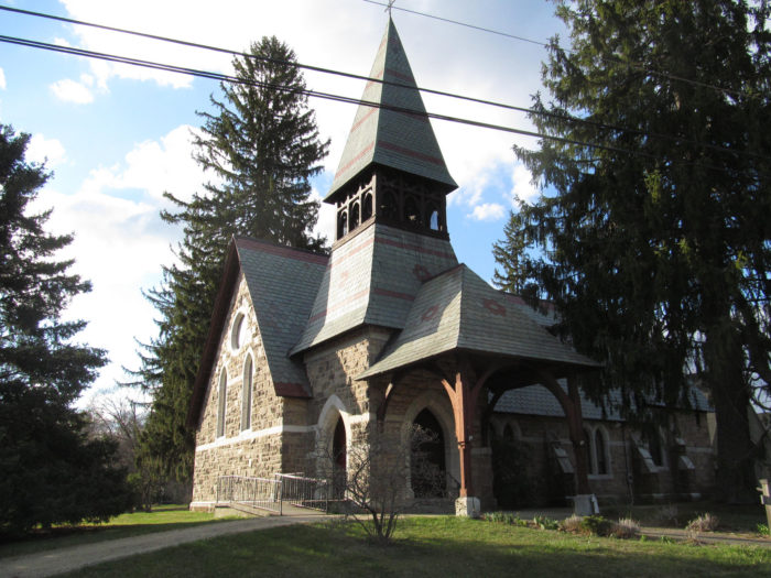 11. This church in Lime Rock isn't the kind of architecture you normally see in the Constitution state.