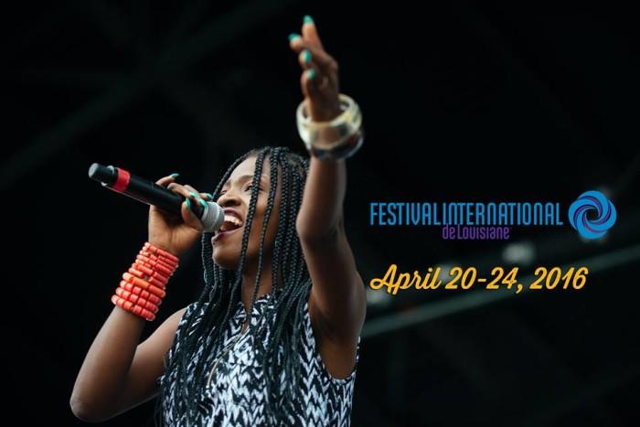11. Festival International, April 20-24, Lafayette, LA