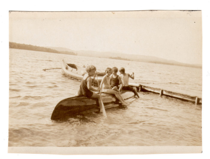 Everyone who grew up on a New Hampshire lake has tipped a canoe, just for fun.