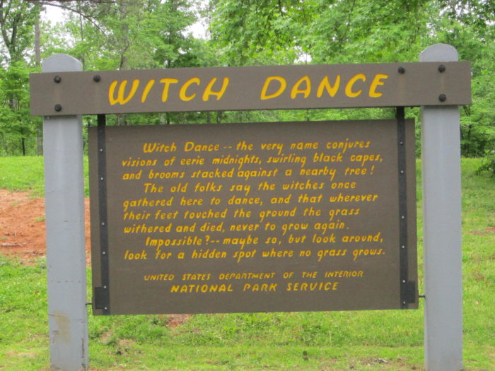 11. Witch Dance, Natchez Trace Parkway milepost 233.2
