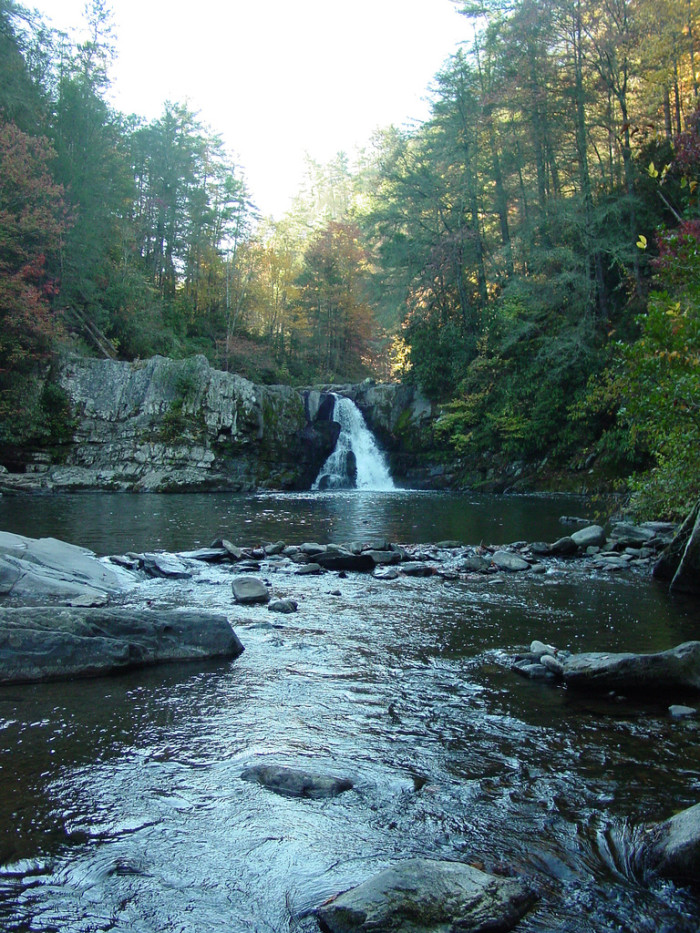 11. Abrams Falls Trail has been listed as one of America's ten most dangerous hikes.