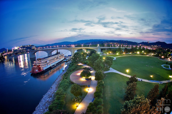 11. Coolidge Park in Chattanooga is perfect for the little ones.