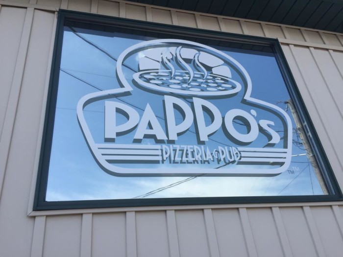 11.  Highest rated restaurant in Osage Beach:  Pappo's Pizzeria and Pub